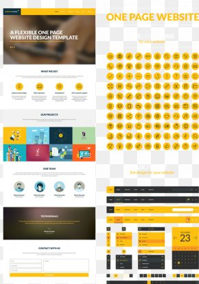 Mobile Web Design Vector Material - Web Page User Interface Design Mobile App Graphical User Interface PNG