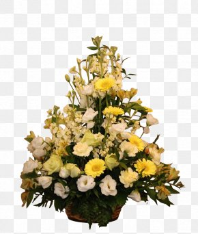 Flower Rattan Photo Frame - Cut Flowers Floral Design Floristry Flower Bouquet PNG