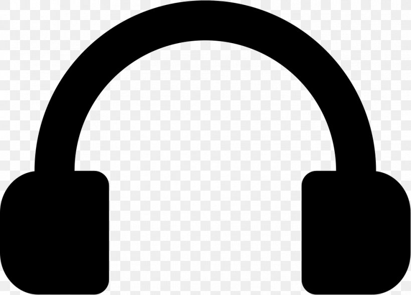 Royalty Free Clip Art Vector Graphics Headphones Png 981x704px Royaltyfree Audio Audio Equipment Black And White