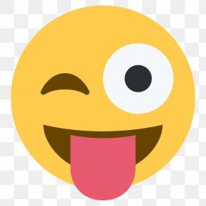 Tongue - Emoji WhatsApp Emoticon Text Messaging PNG