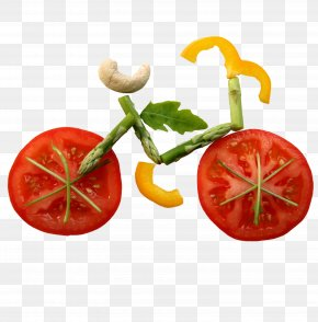 Fruit Bike - Raw Foodism Organic Food Eating Vegetable PNG