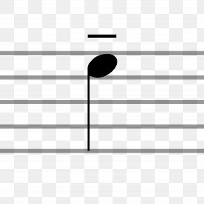 Note Type - Tenuto Musical Notation Musical Note Articulation PNG