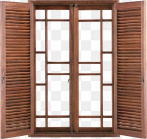 Retro Extrapolation Interior Architectural Windows - Window Blind Sliding Door Window Shutter PNG