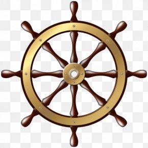 Steering Wheel - Car Ship's Wheel Steering Wheel Clip Art PNG