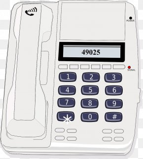 Phone - Telephone Mobile Phones Office Clip Art PNG