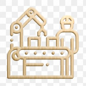Furniture Metal - Factory Icon Shipping And Delivery Icon Mass Production Icon PNG