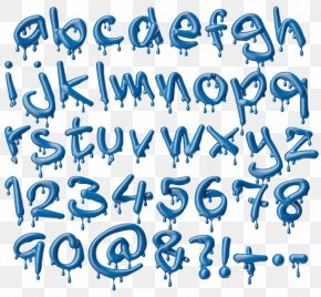 Melting Font - Script Typeface Letter Handwriting Font PNG