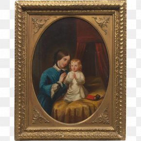 Mother's Day - The Blue Boy Pinkie Paris Street; Rainy Day Painting Art PNG