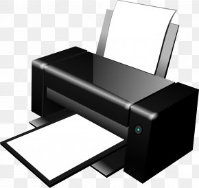 Printer Image - Printer Paper Inkjet Printing Clip Art PNG