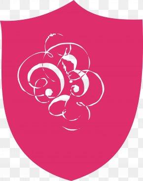 Pink Shield - Shield Vecteur Escutcheon PNG