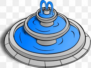 Water Park Clipart - Drinking Fountain Clip Art PNG