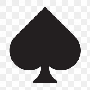 Suit - Playing Card Ace Of Spades Suit PNG