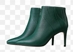 High-heeled Boots - High-heeled Footwear Boot Shoe PNG