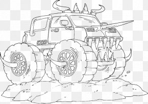 Car Motor Vehicle Drawing Truck Coloring Book Png 1000x1000px Car Area Automotive Design Black And White Brand Download Free