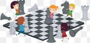 A Small Person Who Moves Chess Pieces On A Chessboard - How To Play Chess For Children: A Beginners Guide For Kids To Learn The Chess Pieces, Board, Rules, & Strategy Chessboard PNG
