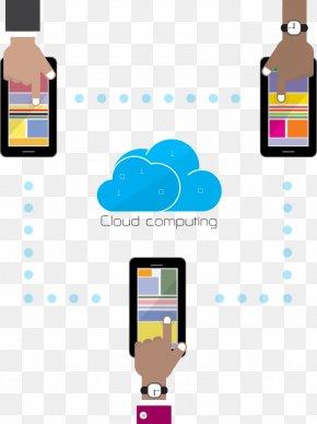 Vector Cloud Computing Diagram - Cloud Computing Cloud Storage Internet Clip Art PNG