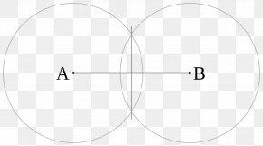 Line Segment - Circle Point Erdibitzaile Perpendicular Line Segment PNG