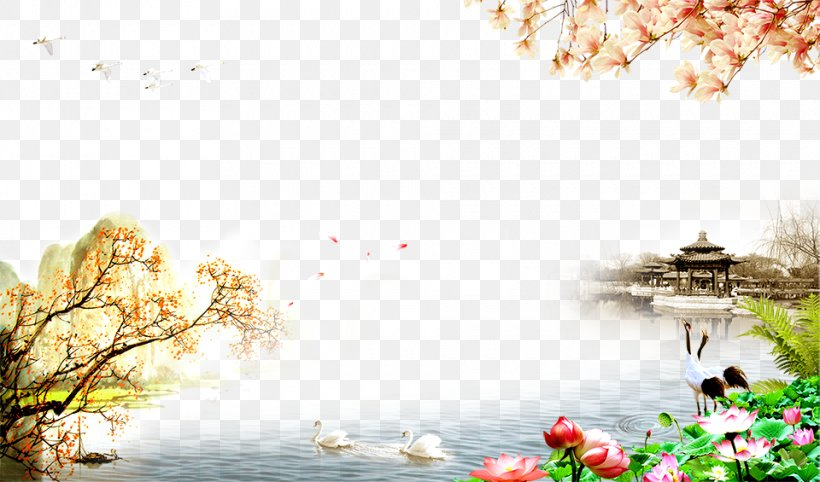 Double Ninth Festival Respect For The Aged Day Poster, PNG, 960x565px, Double Ninth Festival, Advertising, Blossom, Branch, Cherry Blossom Download Free