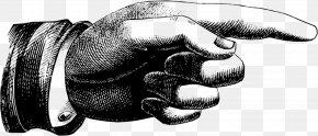 Old Background - Index Finger Clip Art PNG