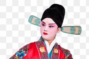 Serious Peking Opera Actor - Actor Peking Opera Download PNG