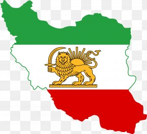 Iran - Greater Iran Flag Of Iran Map PNG