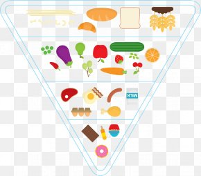 The Food Pyramid - Food Pyramid Clip Art PNG