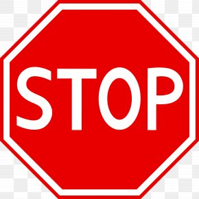 Stop Sign Art - Stop Sign Traffic Sign Clip Art PNG