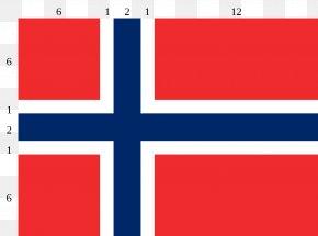 Red Flag Images - Flag Of Norway National Flag Civil Flag PNG
