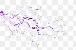 Lightning Effects - Map Purple Area Pattern PNG