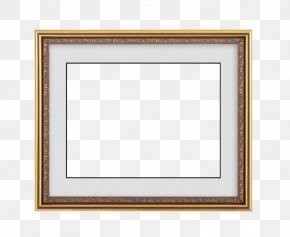 Retro Solid Wood Border - Window Board Game Picture Frame Square Pattern PNG