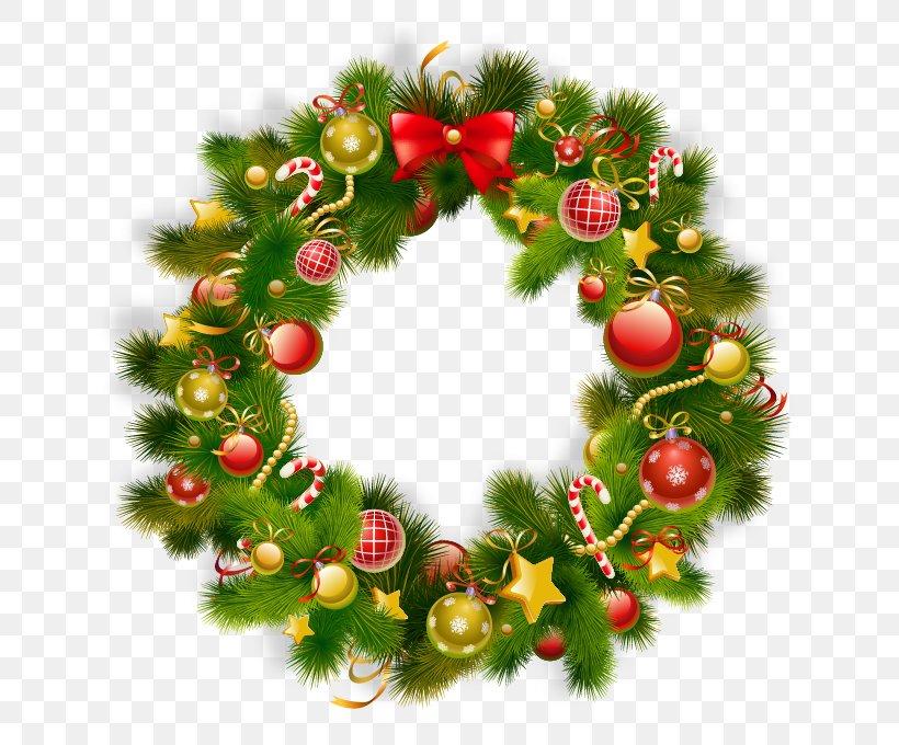 Christmas Ornament Wreath Christmas Decoration Clip Art, PNG, 709x680px, Christmas, Bombka, Christmas Decoration, Christmas Ornament, Christmas Tree Download Free