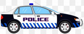 Police Car - Police Car Ford Crown Victoria Police Interceptor Clip Art PNG