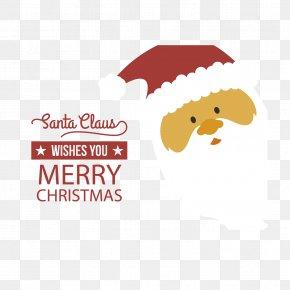 Santa Head Vector - Santa Claus Christmas PNG