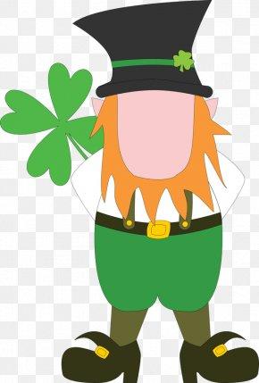 Free Weight Loss Clipart - Leprechaun Saint Patricks Day Clip Art PNG