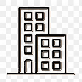 Rectangle Building Icon - Urban Icon Building Icon PNG
