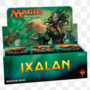 Magic The Gathering Logo - Magic: The Gathering Ixalan Booster Pack Playing Card Warhammer Fantasy Battle PNG