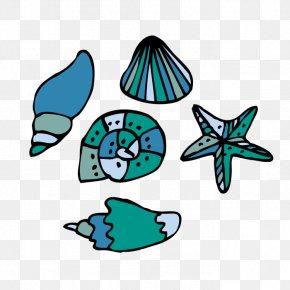 Seashell Tattoo Designs - Tattoo Seashell Clip Art PNG