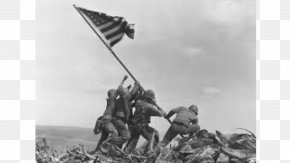 United States - Mount Suribachi Raising The Flag On Iwo Jima Battle Of Iwo Jima Flags Of Our Fathers United States PNG