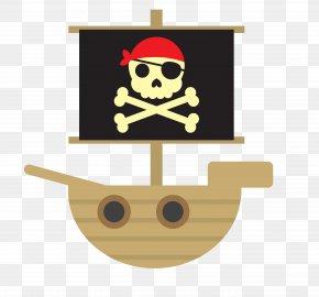 Sea Pirate Ship - Piracy Icon PNG
