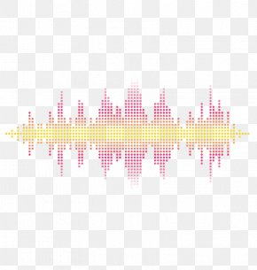 Vector Red Sonic - Sound Pixel Wave PNG