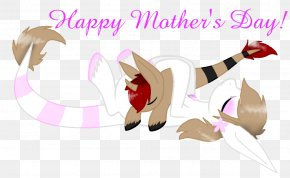 HAPPY MOTHERS DAY - Vertebrate Mammal Clip Art PNG