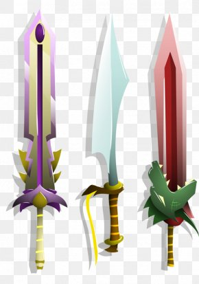 Three Small Sword - Sword PNG