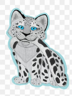 Snow Leopard - Whiskers Medibang Inc. Furry Fandom Cat Art PNG