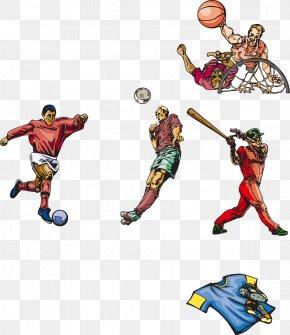 Football Basketball Vector Elements - Ball Game Basketball Football PNG