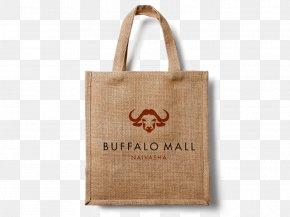 Open Bag - Mockup Hessian Fabric Bag Jute Textile PNG