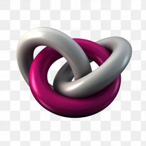 3D Ring Design - Black Circle 3D Computer Graphics Graphic Design PNG