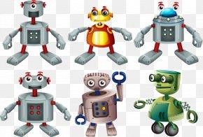 Vector Robot Toys - Robotic Arm Euclidean Vector Drawing PNG
