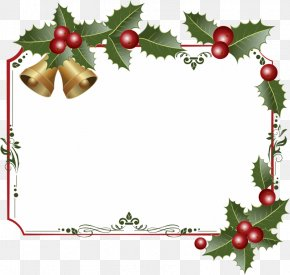 2Nd Day Of Christmas - Clip Art Decorative Borders Borders And Frames Image Vector Graphics PNG