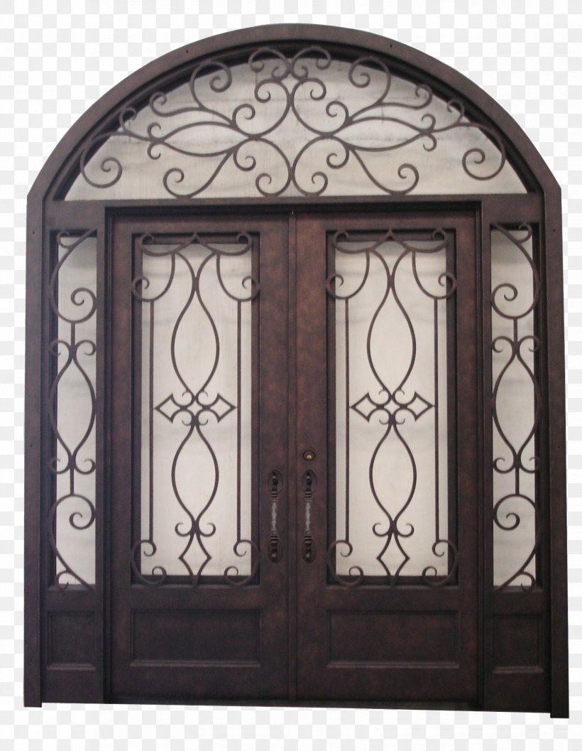 Door Sidelight Transom Arch Facade Png