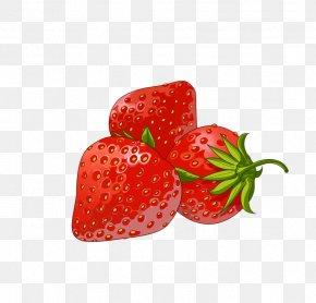 Strawberry - Strawberry Ice Cream Aedmaasikas PNG